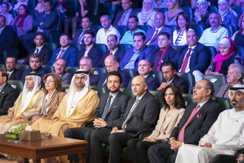 Launching of the One Million Jordanian Coders initiative under the patronage and in the presence of His Royal Highness Crown Prince Al Hussein bin Abdullah II and His Excellency Mohammed bin Abdullah Al Gergawi, Minister of Cabinet Affairs and the Future in UAE (Photo: AETOSWire)