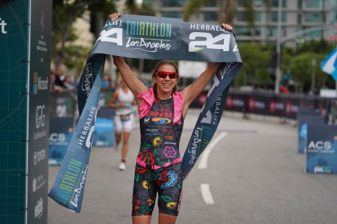 Elite Women's First Place Winner, Sarah Haskins (Photo: Business Wire)