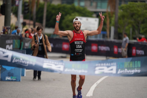 Elite Men's First Place Winner, Robbie Webster (Photo: Business Wire)