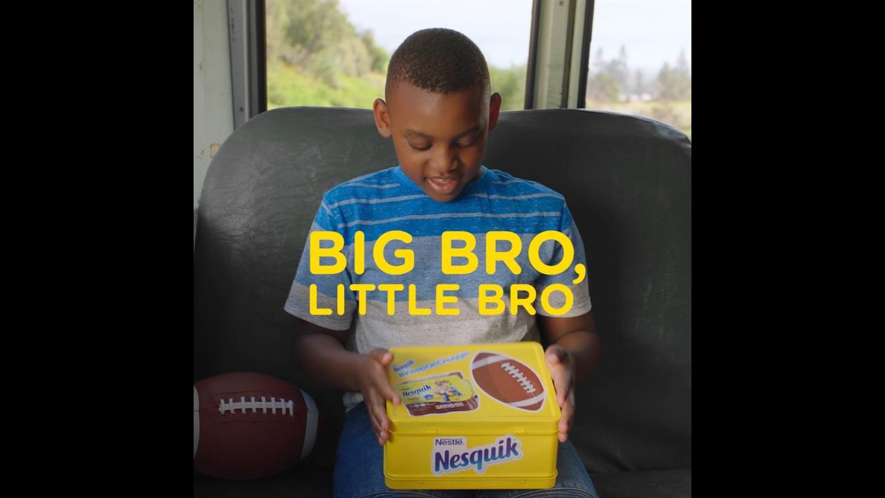 Football Star DK Metcalf Partners with Nestlé Nesquik® to #KeepOnChuggin