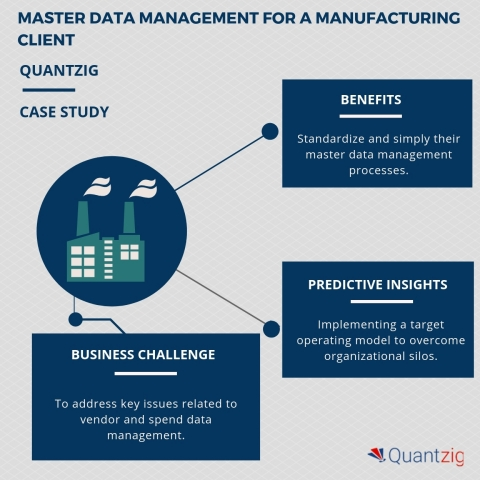 Master Data Management for a Manufacturing Client (Graphic: Business Wire)