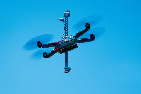 """360-degree VR Photo/Video Shooting Drone """"Next VR (TM)"""" (Photo: Business Wire)"""