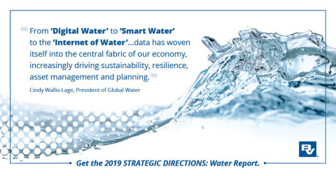 New Black & Veatch Water Report dives into the current landscape of water (Graphic: Business Wire)