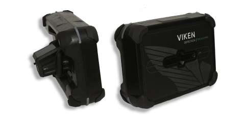 Viken Detection's Broadwing-LAD™, a large-area detector accessory, enhances the capabilities of its HBI-120 handheld backscatter x-ray imager. (Photo: Business Wire)