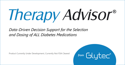 Therapy Advisor® will expand the breadth of Glytec's proprietary eGlycemic Management System®, or eGMS®, a provider-directed enterprise solution for diabetes therapy management and medication optimization that serves patients across the entire continuum of care: inpatient, outpatient and virtual settings. (Graphic: Business Wire)