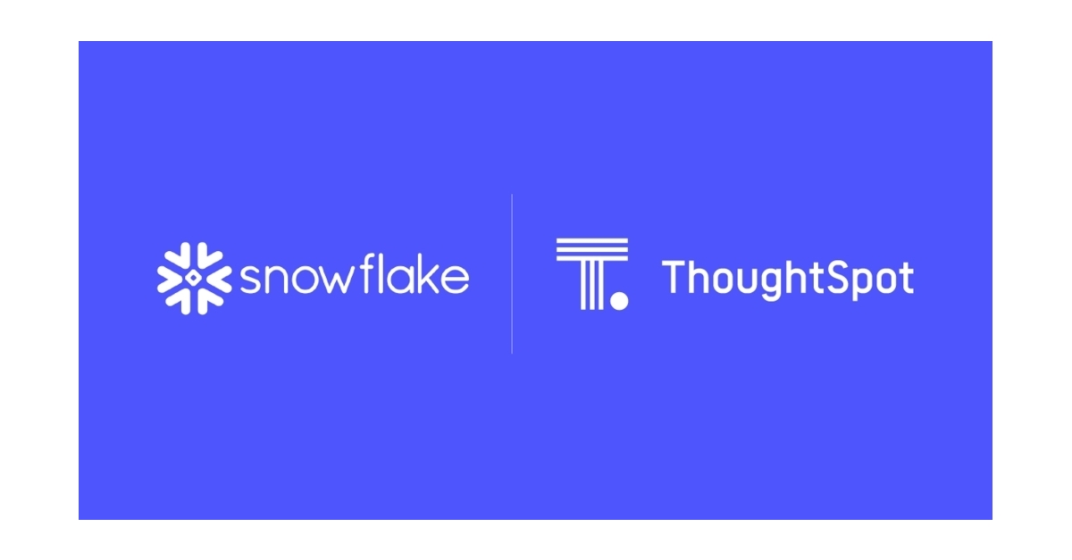 ThoughtSpot and Snowflake Announce Partnership to Deliver Search
