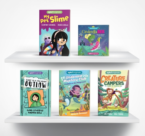 Print versions of Epic! Originals will hit retails stores this fall. (Photo: Business Wire)