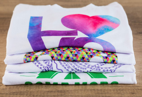 Personalized and Infusible Ink Shirts (Photo: Business Wire)