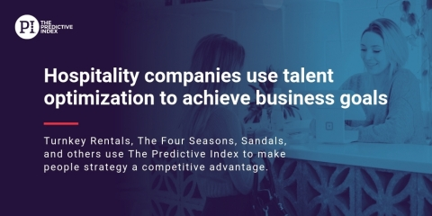 TurnKey Rentals, The Four Seasons, Sandals, and Hundreds of Other Hospitality Companies Hire Top Talent, Increase Productivity, Reduce Turnover and More with Talent Optimization (Graphic: Business Wire)