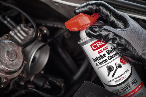 CRC Industries has announced the issuance of US Patent No. 10,267,227 for its CRC GDI IVD® Intake Valve & Turbo Cleaner (Photo: Business Wire)