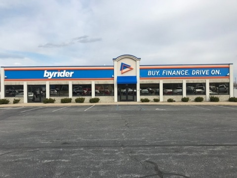 New Byrider store signage (Photo: Business Wire)