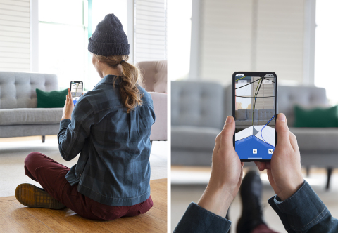 Through a fully-functional app, users will be able to virtually experience MHW products anywhere – whether it's a retail store or their own living room. They'll be able to move around the product as if it's right in front of them and even get inside tents to experience them at scale. (Photo: Business Wire)