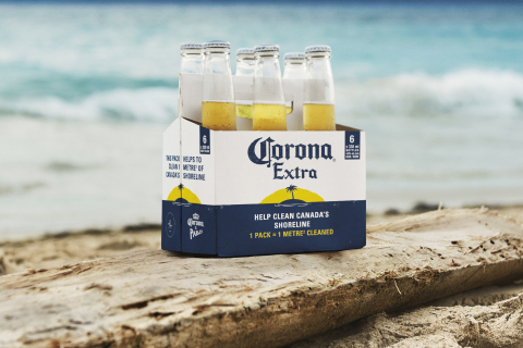 Corona swaps sales for plastic during World Oceans Week as part of mission to protect paradise with Parley (Photo: Business Wire)