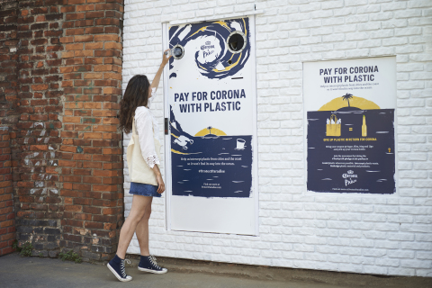 Corona swaps sales for plastic during World Oceans Week as part of mission to protect paradise with  ...