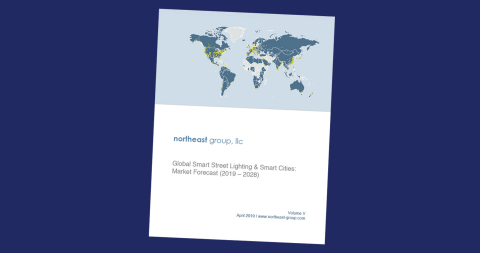 Northeast Group Again Names Telensa as Global #1 in Smart Street Lighting (Graphic: Business Wire)