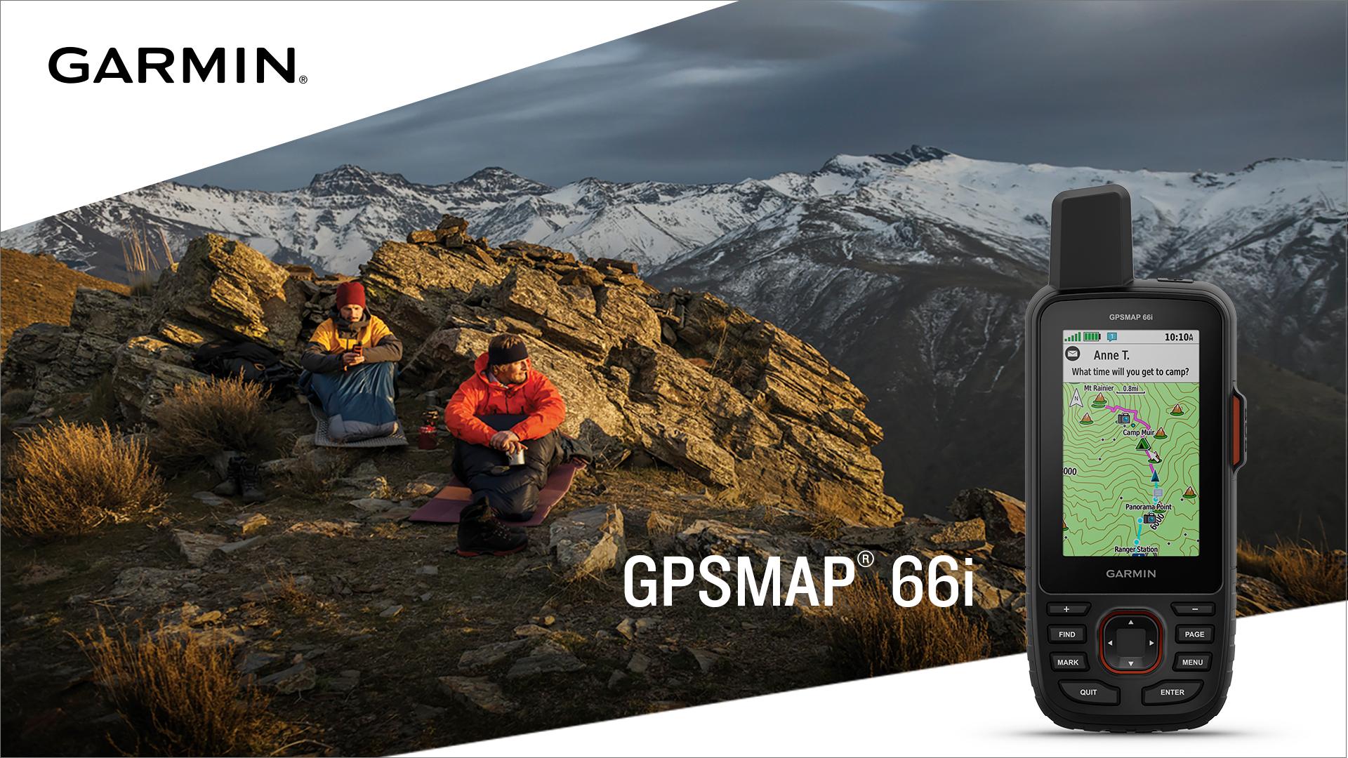 Garmin's flagship handheld navigator meets global