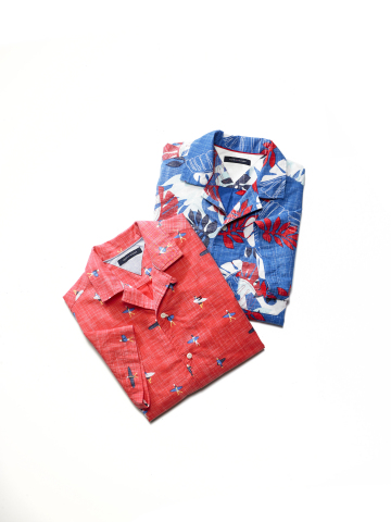 Celebrate Dad in style this Father's Day with a thoughtful gift from Macy's. Tommy Hilfiger Camp Collar Shirts, $69.50 each. (Photo: Business Wire)