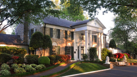 Elvis Presley's Graceland in Memphis, Tennessee (Photo: Business Wire)