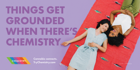 Turn the mundane into a moment, and that moment into a memory with Chemistry's full-spectrum cannabis products. Things get GROUNDED when there's Chemistry. (Photo: Business Wire)