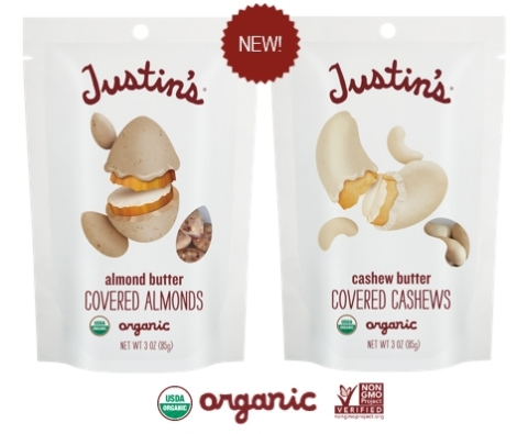 Toward Sustainable Food Packaging: these new ProAmpac pouches for Justin's® Nut Butter Covered Nuts  ...