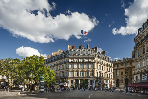 Exterior view of Hotel du Louvre (Photo: Business Wire)