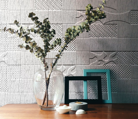 The Formula | Versa-Tile + Distressed White (MirroFlex Structures) (Photo: Business Wire)