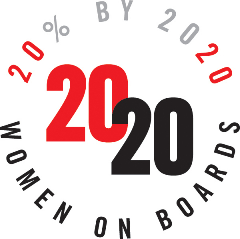 Aramark was recognized for having at least 20% women on its board of directors. (Photo: Business Wire)