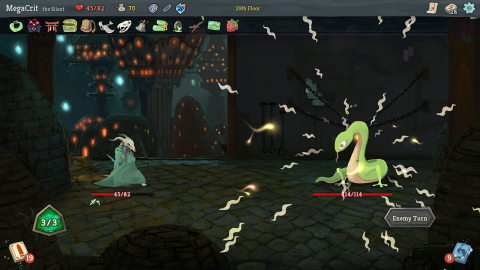 The Slay the Spire game fuses card games and roguelikes to make a dynamic single-player deck-builder. (Photo: Business Wire)