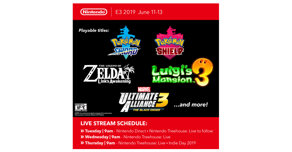 Nintendo Continues Its Countdown to E3 2019 with More Details on