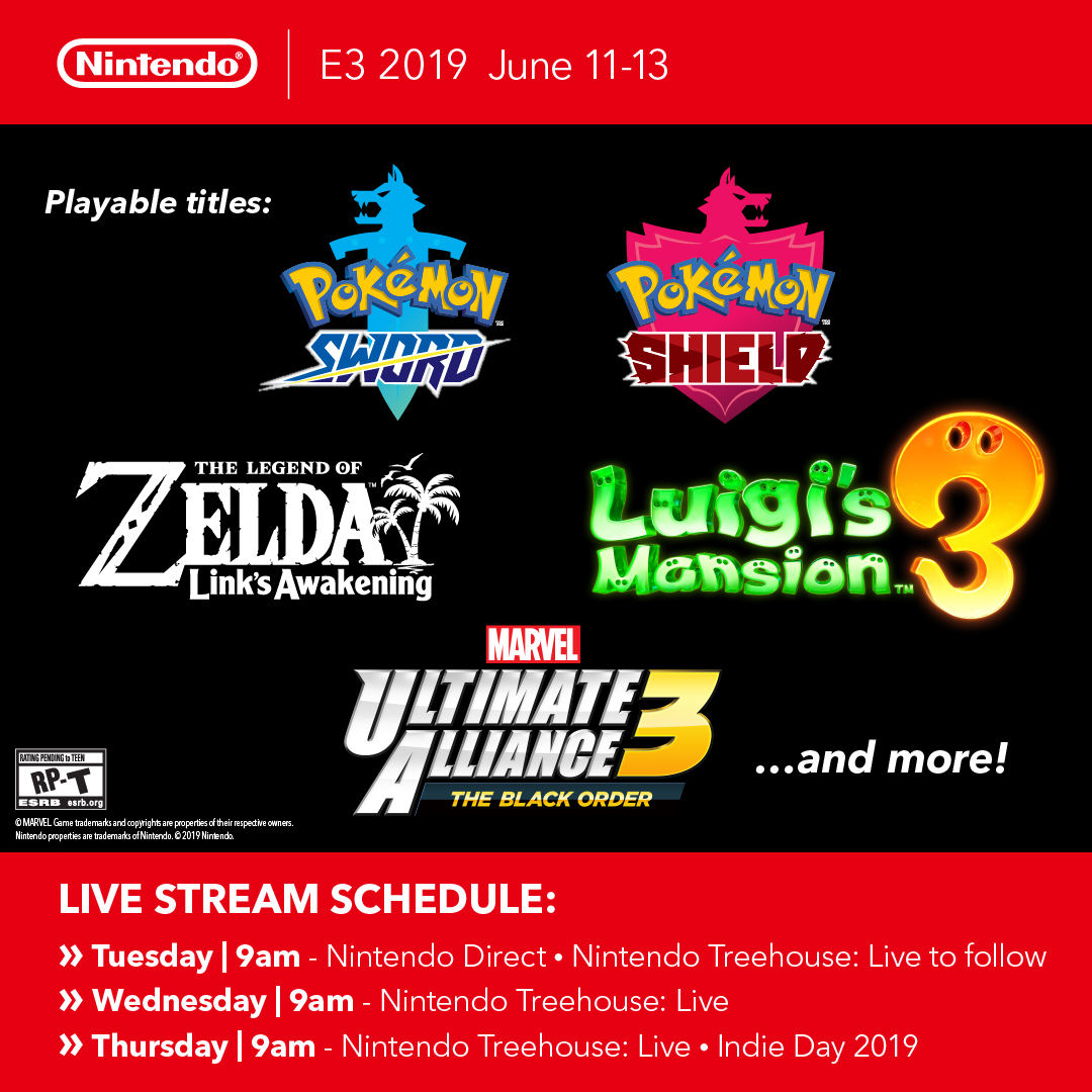 Nintendo Continues Its Countdown To E3 2019 With More Details On What Fans Can Expect Business Wire