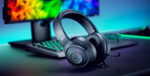 Razer Kraken X wired gaming headset (Photo: Business Wire)