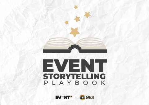 Report provides insights for event planners, exhibitors and general marketers on getting more business by leveraging the power of stories. (Graphic: Business Wire)