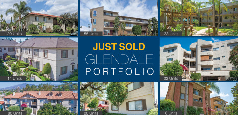 TMG Just Sold 261 Units in Glendale, CA (Graphic: Business Wire)