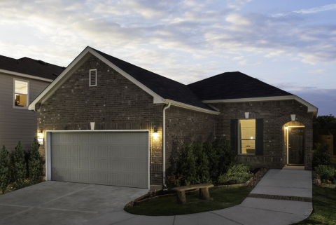 New KB homes now available in San Antonio. (Photo: Business Wire)