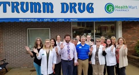 Trumm Drug Health Mart pharmacy in Alexandria, Minnesota. (Photo: Business Wire)