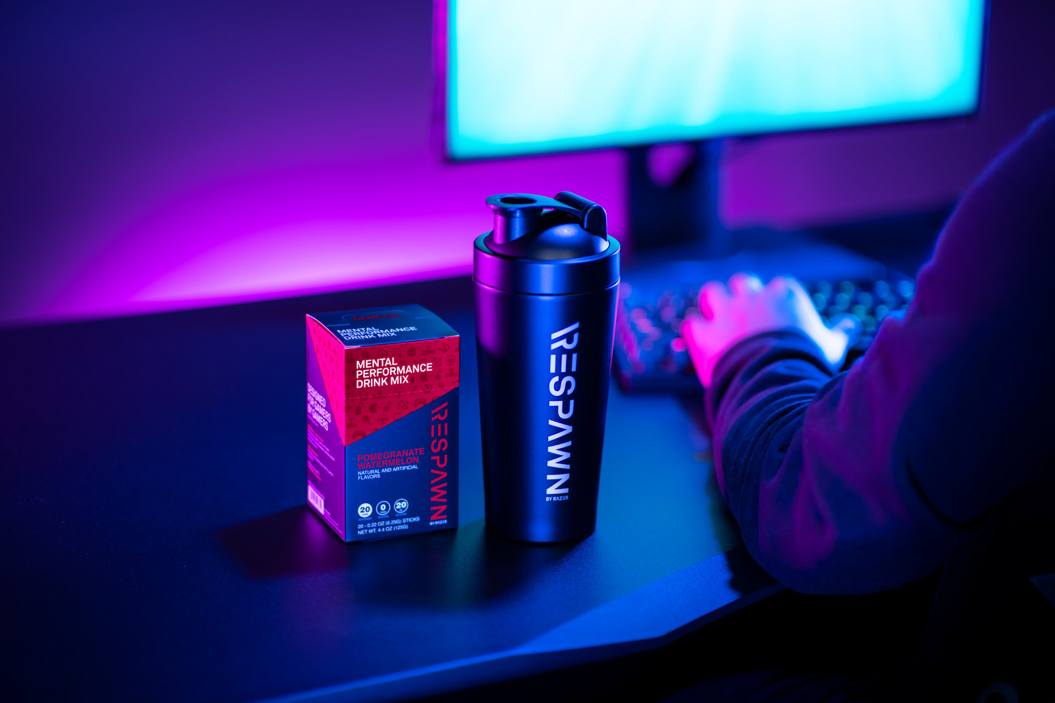 RESPAWN Performance Drink Mix Is a Boost for Your Gaming