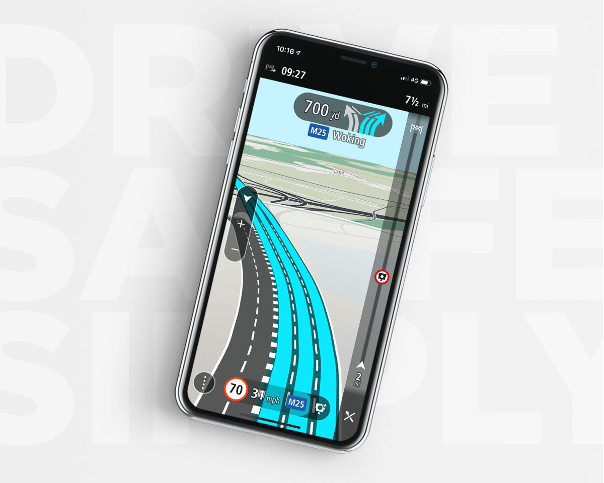 New TomTom GO Navigation App with Apple CarPlay | Business Wire