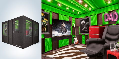 Groupon is giving you a once-in-a-lifetime opportunity to show your appreciation for Dad with the $60,000 fully furnished man cave of his dreams. https://gr.pn/mancave (Photo: Business Wire)