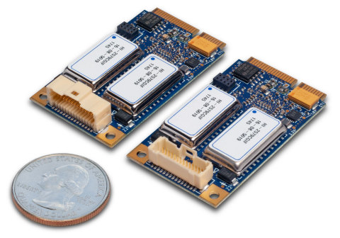 The new ME1000 family of MIL-STD-1553 interface cards enable embedded computers and other systems to reliably communicate with and monitor avionics equipment. They feature the mPCIe platform's highest I/O density. (Photo: Business Wire)