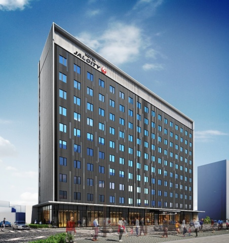 Rendition of Hotel JAL City Toyama (Graphic: Business Wire)