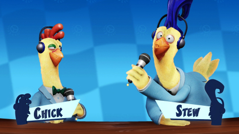 Chick and Stew are back and are as funny as you remember. Catch them on CTR TV, where they spill all the news surrounding each Grand Prix season of Crash Team Racing Nitro-Fueled. Crash Team Racing Nitro-Fueled launches on June 21, and the first Grand Prix starts July 3! (Graphic: Business Wire)