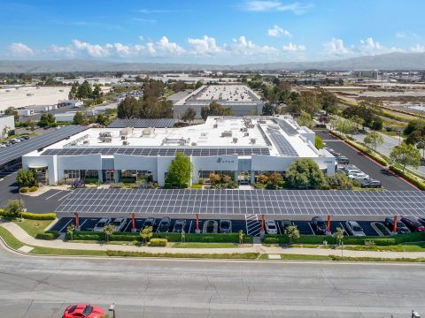 ATUM's Newark, Calif. headquarters is fueled entirely by renewable energy after a 26,000 sq. ft. solar panel installation. (Photo: Business Wire)