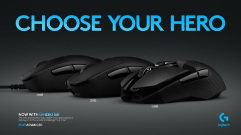 Logitech G announces three new additions to its lineup of HERO mice, the Logitech G903 LIGHTSPEED Wi ...