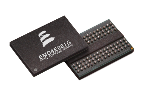 Everspin Enters Pilot Production Phase for the World's First 28 nm 1 Gb STT-MRAM Component (Photo: B ...