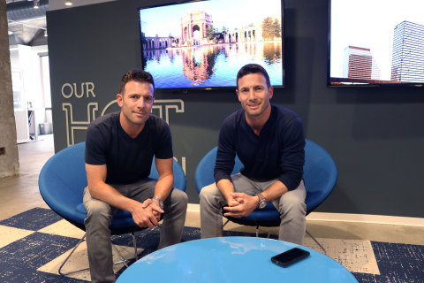 SpotOn co-founders Matthew and Zachary Hyman (Photo: Business Wire)