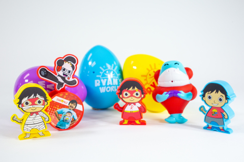 Exclusive Ryan's World Toy Line for Star Pals Meals (Photo: Business Wire)