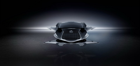 A closer look at the Lexus Jet from Sony Pictures' Men in Black™: International (Graphic: Business Wire)