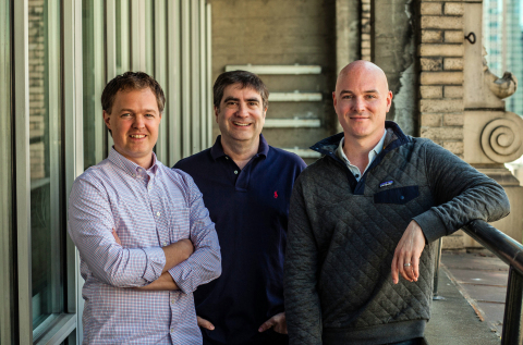 Pictured, from left: Luke Hoban, Pulumi CTO; Eric Rudder, Pulumi President, COO and Executive Chairman and Joe Duffy, Pulumi CEO. (Photo: Business Wire)