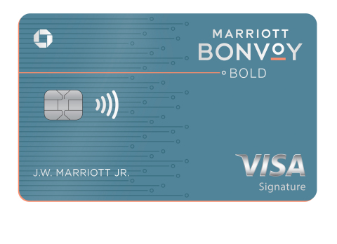 Chase and Marriott launch new no-annual fee card, the Marriott Bonvoy Bold Credit Card. (Photo: Business Wire)