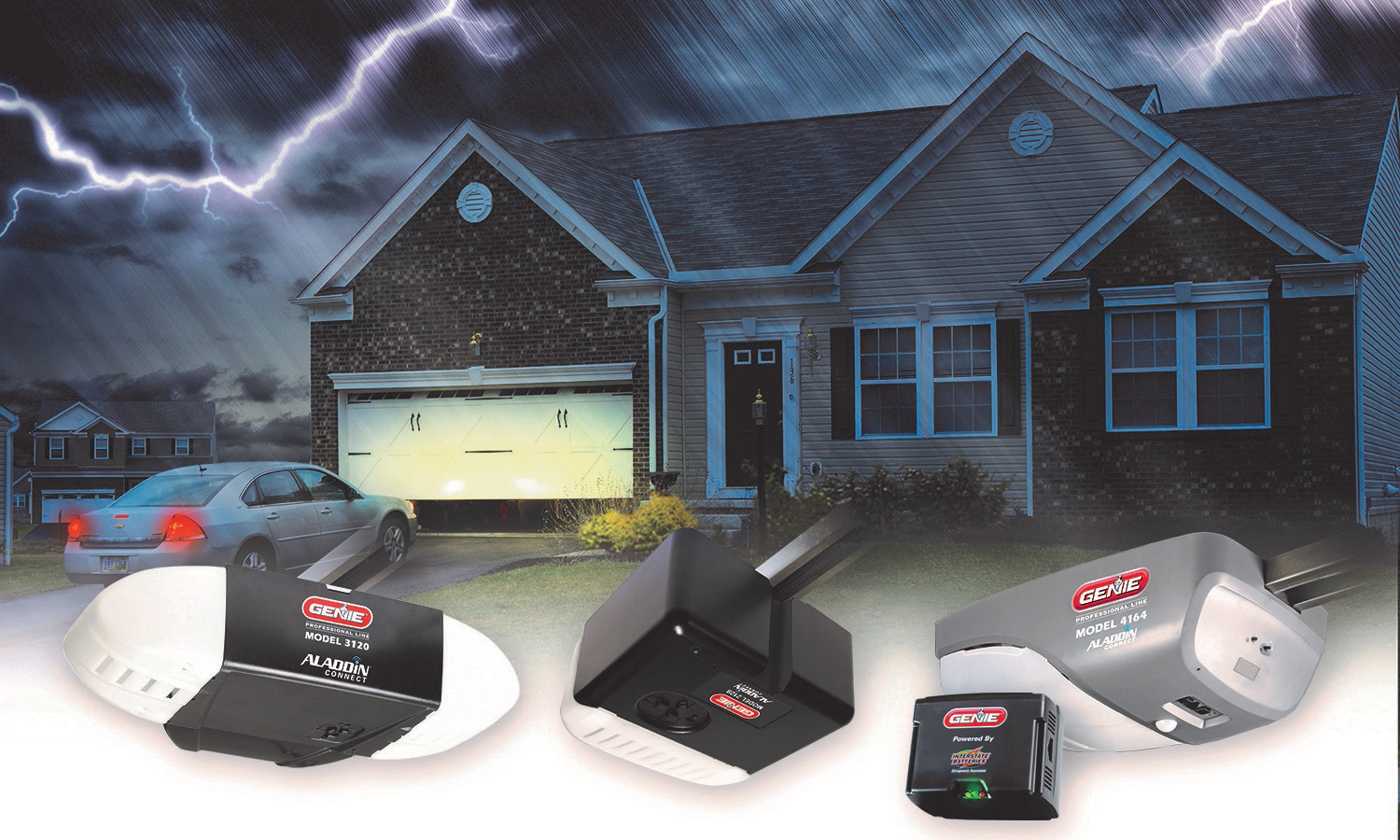 The Genie Company Announces New Battery Backup Capable Garage Door